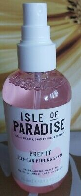 ISLE OF PARADISE  PREP IT SELF- TAN PRIMING SPRAY