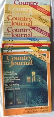 9 Issues Country Journal 80s & 90s