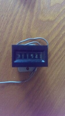 Electromagnetic Counter  12VDC  Used