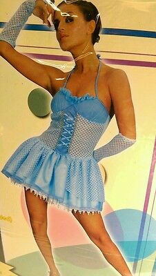 SEXY ADULT/LADIES/MENS BALLERINA FANCY DRESS COSTUME/OUTFIT SIZE 12 - 14 - Sexy Ballerina Kostüm