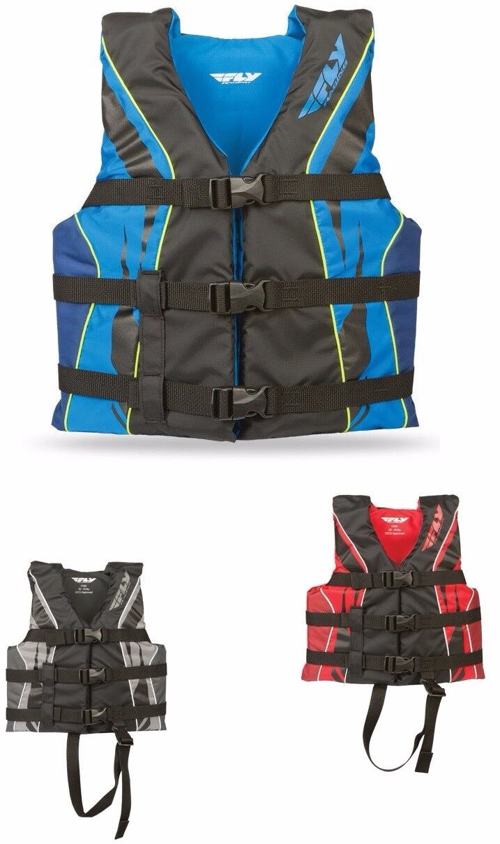 FLY RACING NYLON CHILD VEST 30-50 LBS. FREE SHIPPING, NEW WITH TAGS, MANY COLORS