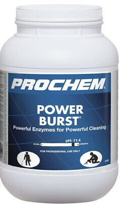 Prochem Power Burst Pro Highly Concentrated Carpet Cleaner Pre-spray 6.5 Lbs