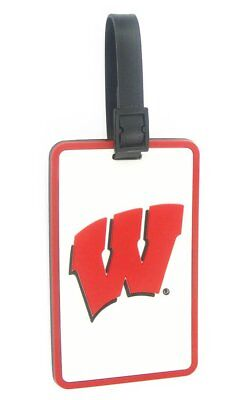 Wisconsin Badgers Bag Tag Tag Luggage (Wisconsin Badgers Bag Tag)