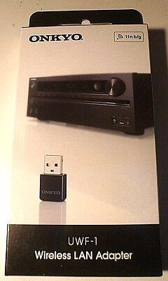 ONKYO UWF-1 Wireless USB LAN Adapter Black Speedy Japan F/S A1501606