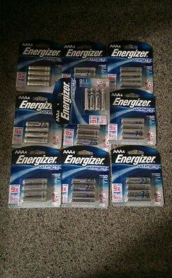40 Energizer® Ultimate AAA Lithium Batteries (10 Pks of 4) Preppers!!!!