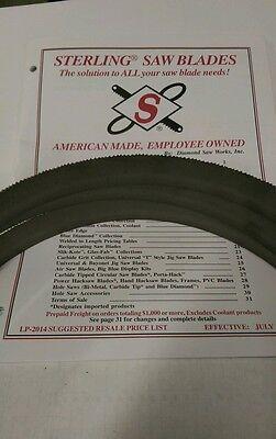 93 12 X 34 1410 Tpi Bi-metal Metal Working Bandsaw Blades