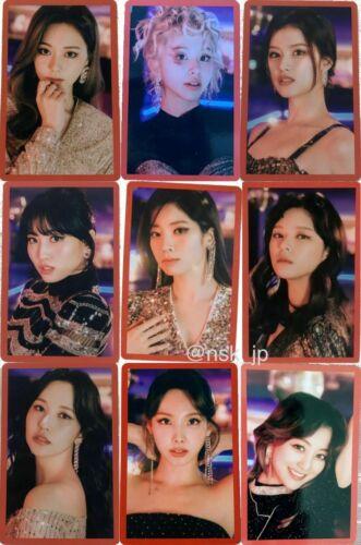 TWICE Japan 8th Single Kura Kura Official Photo card