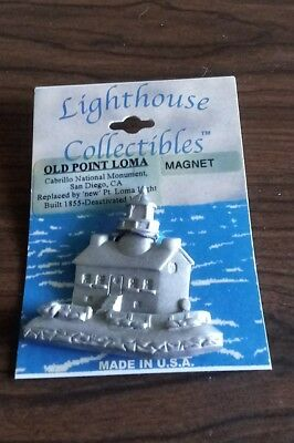 NEW LIGHTHOUSE COLLECTIBLES MAGNET OLD POINT LOMA