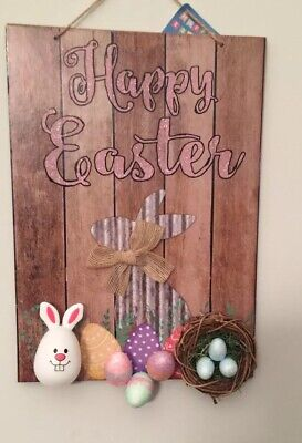 Easter Decor Wall Hanging. Discounted Price For Limited - Halloween Decorations Discount