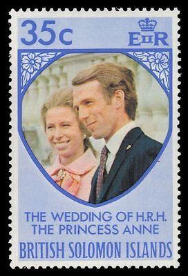 SOLOMON ISLANDS 260 (SG246) - Princess Anne Royal Wedding (pa30261) NH