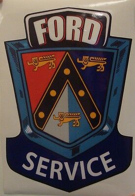 Ford Service Decal *Gas & Oil