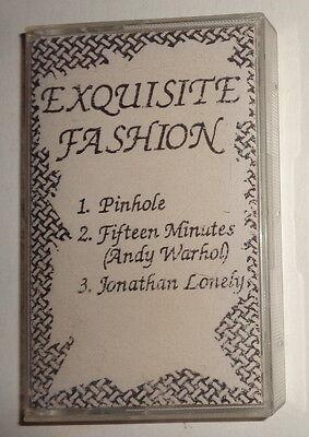 EXQUISITE FASHION - Ultra-rare Demo Cassette, 1991 - Eric & Marc Johnson +