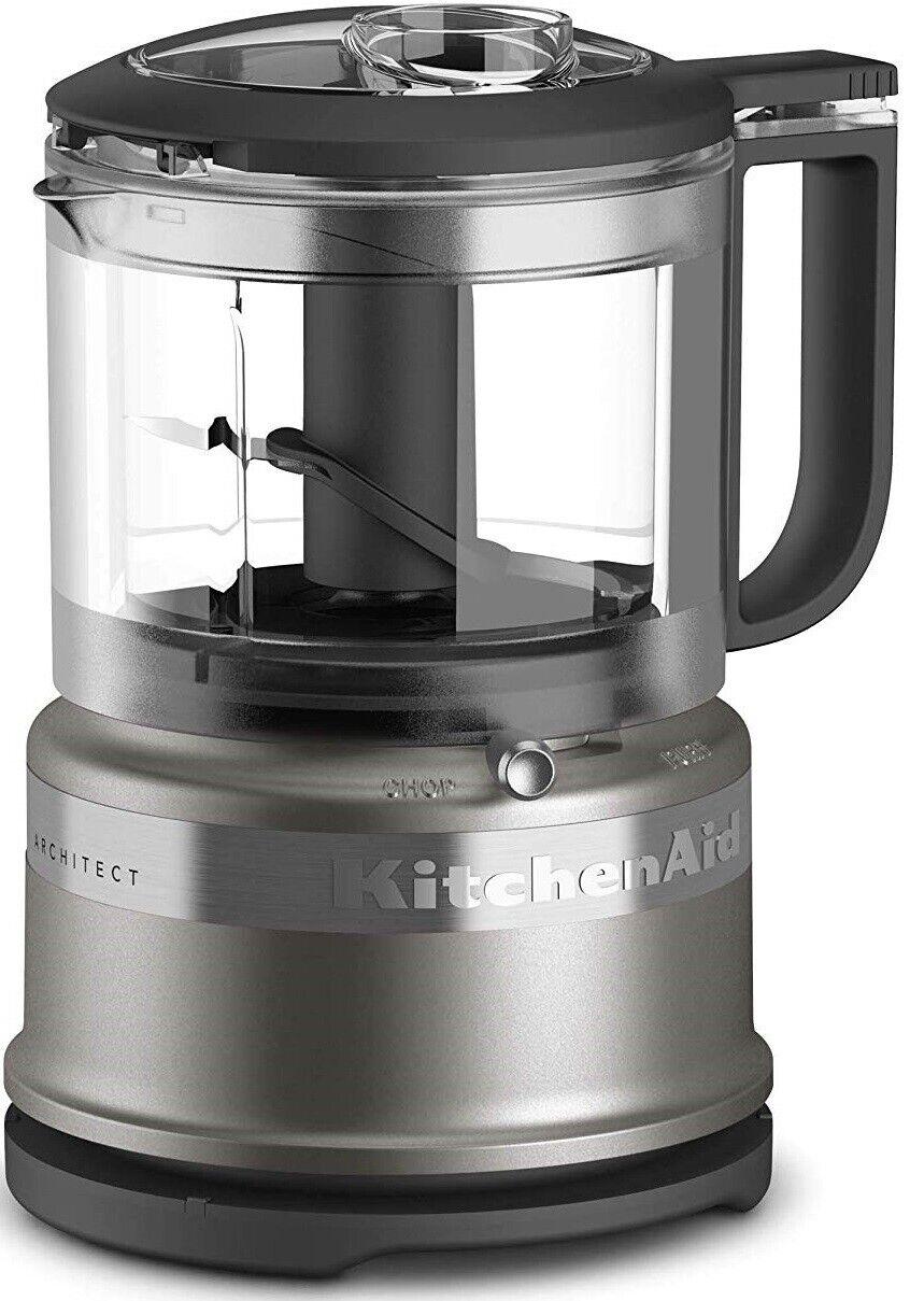 Architect KitchenAid KFC3516ACS 3.5 Cup Mini Food Processor