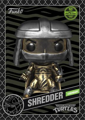 Funko TMNT NFT - SHREDDER - Redeem for RARE physical POP collectible - Mint #439