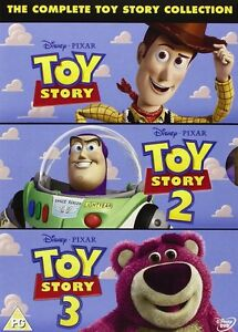 Toy Story - The Complete Collection 1, 2 & 3 Box Set   New   Sealed   DVD