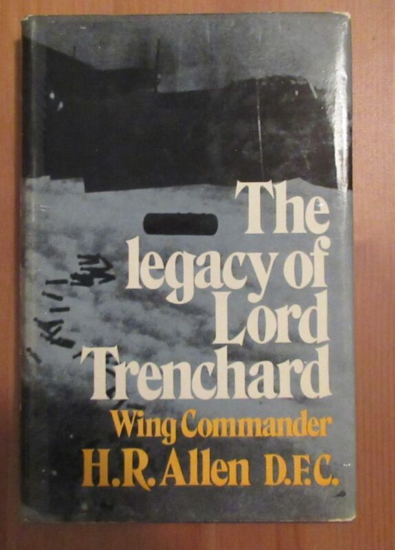 book TRENCHARD BIOGRAPHY allen legacy