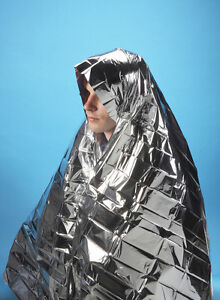 3 X FOIL SPACE BLANKET EMERGENCY SURVIVAL BLANKET THERMAL RESCUE FIRST AID