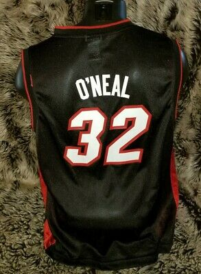 Shaq O'Neal Miami Heat #32 NBA Reebok Swingman Jersey Youth Large