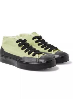 - CONVERSE + A$AP Nast Jack Purcell Chukka Rubber-Trimmed Canvas Sneakers Size 12