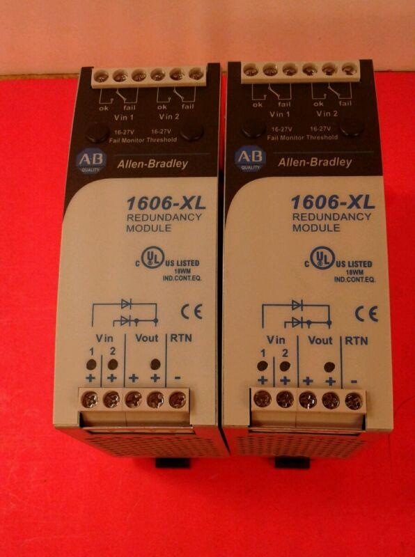 Allen Bradley 1606-XLRED20-30 /A Dual Redundancy Power Supply Module 24V DC  4B