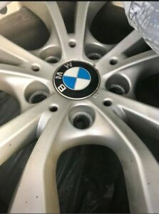 Original BMW X1 Rims with winter tires.