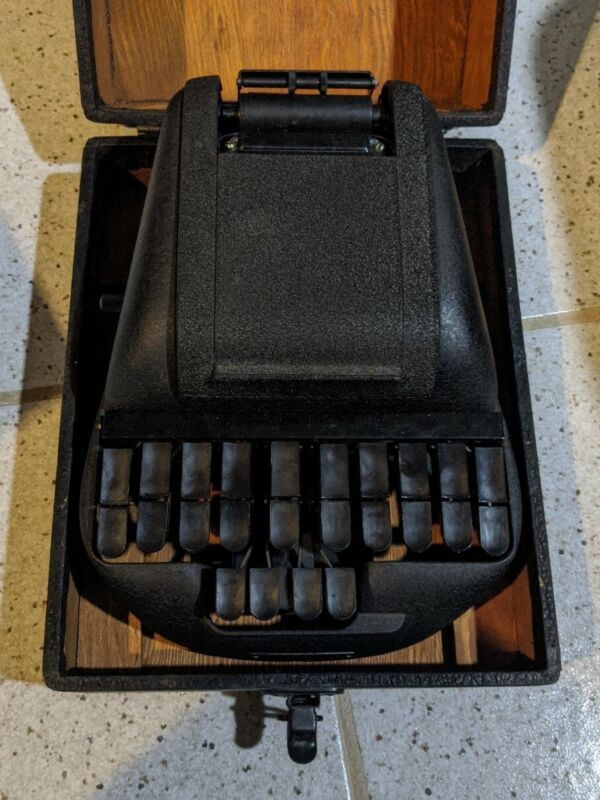 The Stenotype Company Stenograph Machine w/ Hard Case