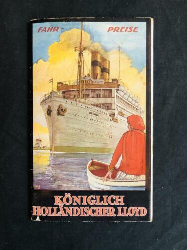 ROYAL HOLLAND LLOYD Koninklijke SOUTH AMERICA Art Deco BOOK Albert Hemelman 1927