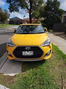 2016 Hyundai Veloster Coupe SR TURBO+ Yellow Derrimut Brimbank Area Preview