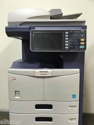 Toshiba E-studio 207l Monochrome Tabloid Printer Copier Scanner 20ppm 80k