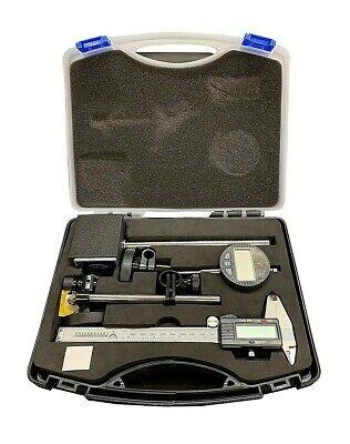 Pec Electronic Measuring 3 Pc Set Caliper Wcase Chn 8000-s3