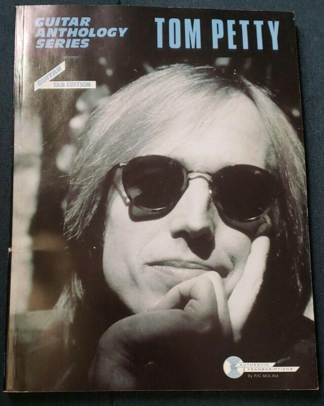 Tom Petty Guitar Anthology Series Guitar TAB Edition Book Ric Molina