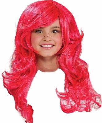 Strawberry Shortcake Wig New / Pink - Strawberry Shortcake Wigs