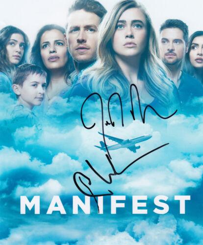 Manifest Josh Dallas & Melissa Roxburgh signed 10x8 photo AFTAL & UACC + ACOA