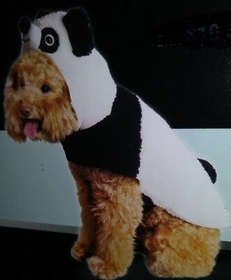 NWT Black White Panda Bear Dog Halloween Costume Zoo Animal Lover Wild - Halloween Bear Dog
