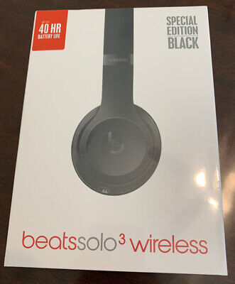 Beats by Dr. Dre Solo3 Wireless Over the Ear Headphones - Special Edition Black