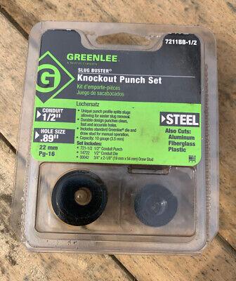 Greenlee Slugbuster 7211bb-12 - Knockout Set - 12 Conduit Hole