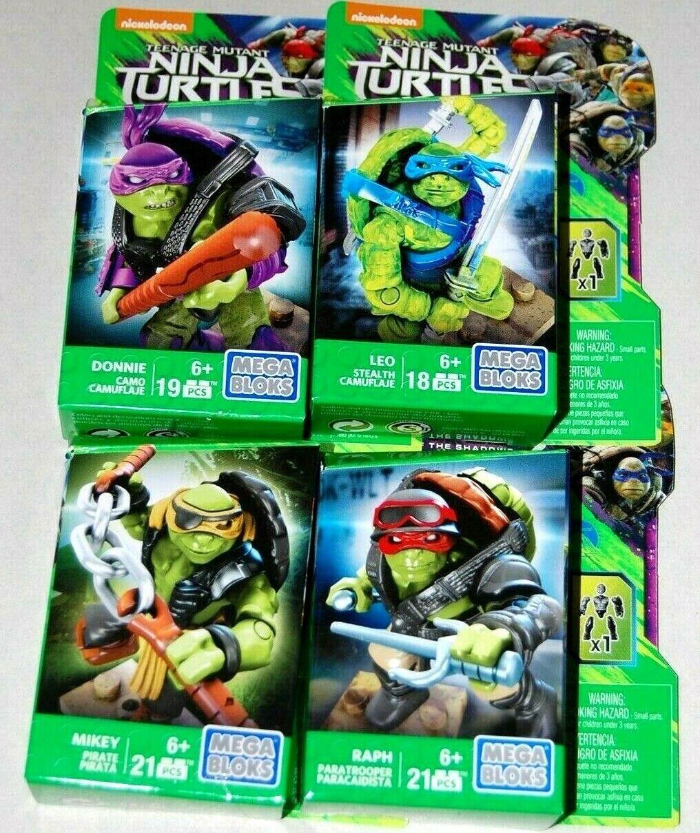 Mega Bloks Teenage Mutant Ninja Turtles 18 Pieces - Stealth