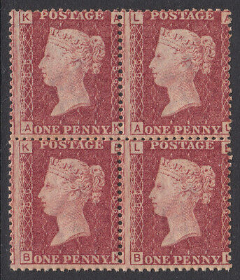 SG43/4 Plate 168 Position AK/AL-BK/BL block of four in unmounted mint condition