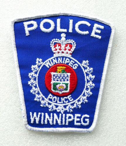 Obsolete Police Patch - WINNIPEG Manitoba Canada - PERFECT