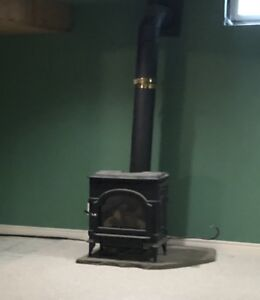 Direct vent gas stove/fireplace