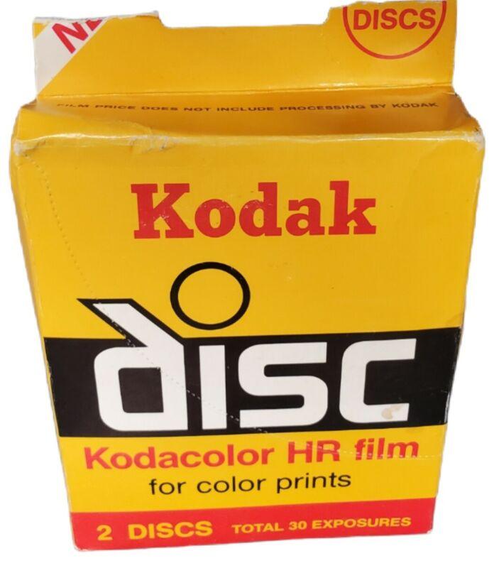 Kodak Disc Film Kodacolor Gold (VR/HR) 2-15  Sealed Film Disks for Disc Cameras