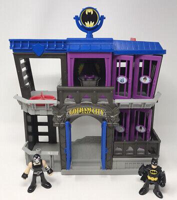Imaginext Gotham City Jail - Batman & Bane With Bat Signal