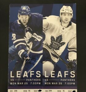Pair of Leafs vs Panthers Tickets for Monday's Game! $250/pair