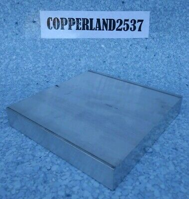 1 X 5 X 5 Long New 6061 T6511 Solid Aluminum Plate Flat Bar Stock Mill Block