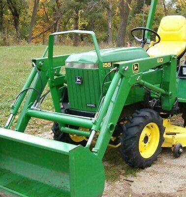 John Deere 655 755 855 955756 856 Tractors Technical Manual Tm1360 Pdf Oem