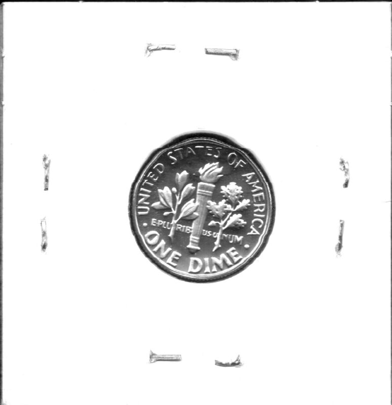 1988-S CHOICE PROOF ROOSEVELT DIME