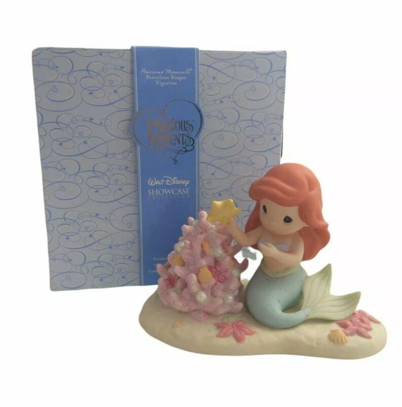 Precious Moments Disney Little Mermaid Christmas Spirit is A Part of My World