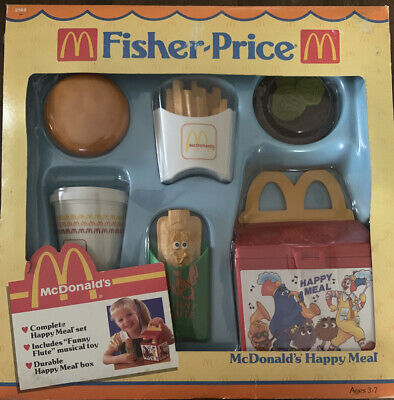 Fisher Price McDonalds Happy Meal Set