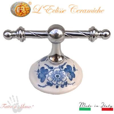 Muebles De Baño Gancho albornoz cerámica Vietri artesanal 100% made in italy
