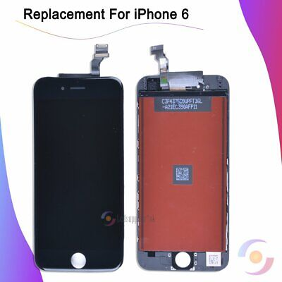 """Replacement Black For iPhone 6 4.7"""" LCD Assembly Touch Screen Digitizer Display"""